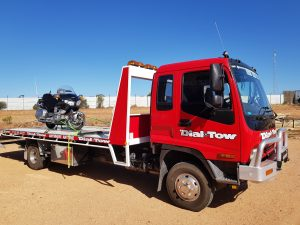 River Murray Towing Honda Goldwing