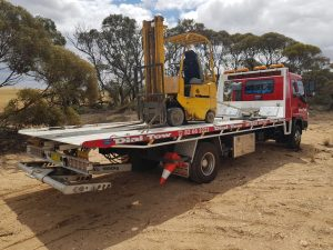 River Murray Towing Forklift
